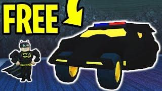 HOW TO GET the BATMOBILE or TORPEDO for FREE! NEW VEHICLES