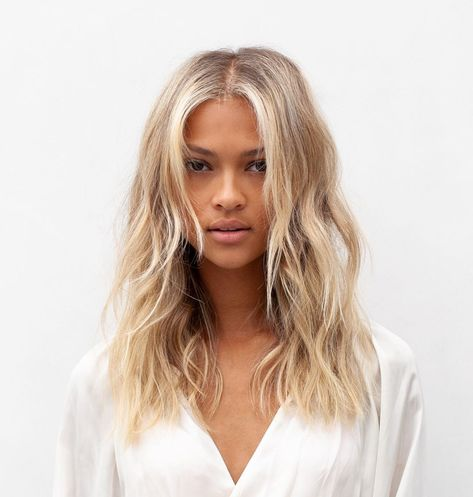 From honey gold and cinnamon copper, to a creamy blonde and smoky cocoa, these are fall's trendiest shades. #hair #beauty #hairstyles #fallhair #fallhaircolor #hairtrends #balayage