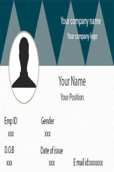 25 Free Id Card Template Downloads Complete Guide To Id Cards In 2020 Id Card Template Identity Card Design Card Template