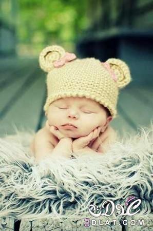 لاحلي اطفال مواليد اطفال رقيقة وكيوت 3dlat Com 1412894248 Kids Crochet Hats Kids Photos