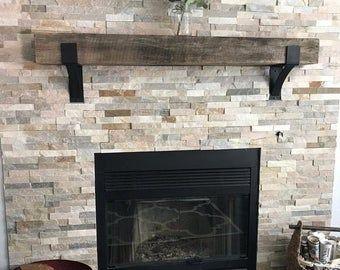 Fireplace Mantel Mantel Decor Rustic Mantel Farmhouse Mantel