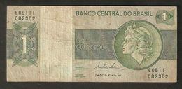 T Brazil Banco Central Do Brasil Um Cruzeiro B06111 082302 Item