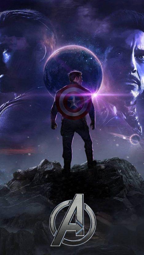 Avengers Endgame Captain America Titan Planet Iphone Wallpaper Iphone Wallpapers Captain America Wallpaper Marvel Superheroes Marvel Avengers