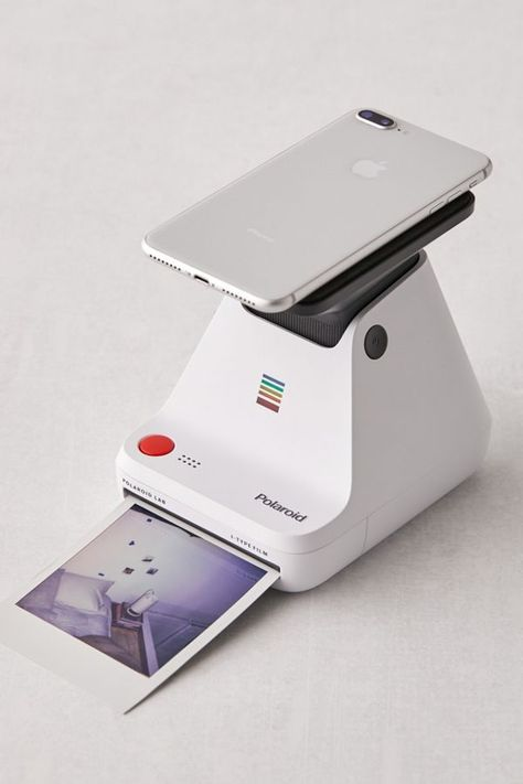 Shop Polaroid Originals Photo Printer Lab at Urban Outfitters today. We carry all the latest styles, colors and brands for you to choose from right here. Film Polaroid, Polaroid Printer, Photo Polaroid, Vintage Polaroid Camera, Iphone Photo Printer, Photo Booth Printer, Polaroid Camera Instax, Best Photo Printer, Picture Printer