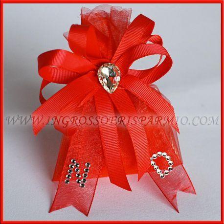 Bomboniere Per Confetti Laurea Rosso Originali E Personalizzabili Online Bomboniere Laurea Bomboniere Fai Da Te