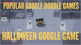 popular google doodle games how to play google doodle games halloween 2016 play at home popular google in 2020 doodles games google doodle games google doodles google doodle games halloween 2016