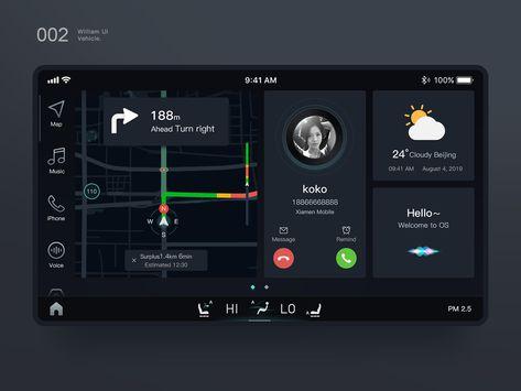 Vehicle UI - Call