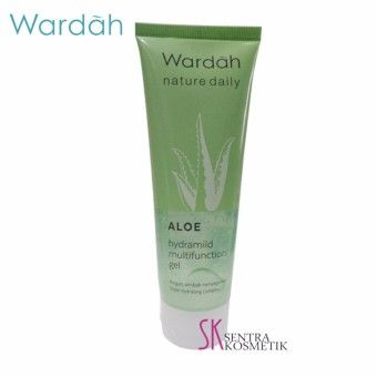 Shop Now Wardah Hydrating Aloe Vera Gel Hydramild Multifunction