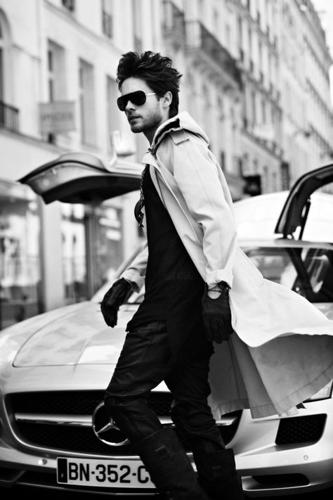 Jared Leto by Aline & Jacqueline Tappia for Blast Magazine- Jared looks fabulous in these!