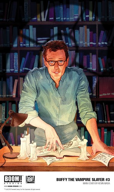 Kevin Wada Channels His Inner Ripper On Buffy The Vampire Slayer 3 Buffy Contre Les Vampires Buffy Vampire