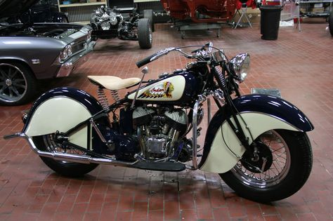 Indian Motorcycle lavé coiffure