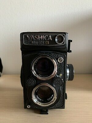 Details About Yashica Mat 124g Medium Format Tlr Film Camera In 2020 Yashica Film Camera Vintage Film Camera