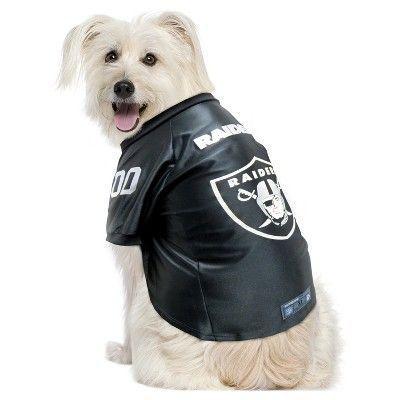 ba1ec481 NFL Oakland Raiders Pet Premium Jersey - X Small | Raiders ...