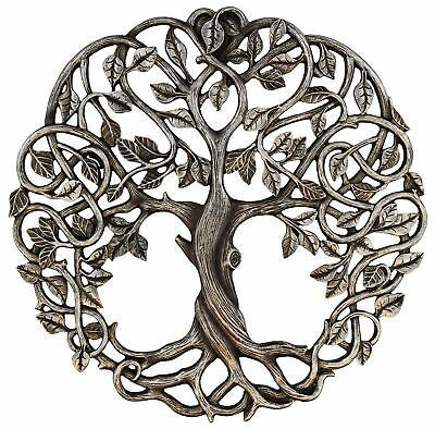 Old River Outdoors Tree of Life Wall Plaque 11 Decorative Celtic Garden Art Sculpture - Antique Silver Finish. Decorate your favorite wall with this beautifully detailed Tree of Life plaque from Old River Outdoors. Tree Of Life Art, Celtic Tree Of Life, Tree Art, Sculpture Metal, Wall Sculptures, Celtic Tree Tattoos, Life Tree Tattoo, Celtic Patterns, Unalome
