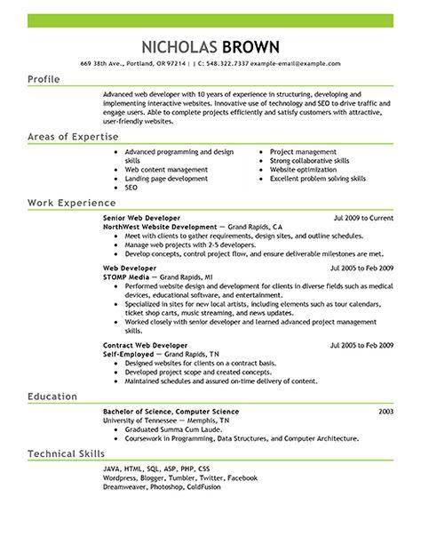 4210 best Resume Job images on Pinterest Job resume format, Free - librarian resume