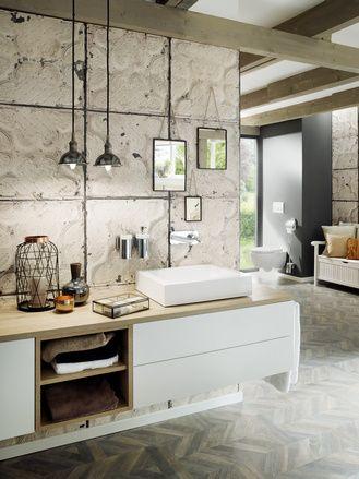 Industrial Style Das Loft Bad Industriedesign Badezimmer Badezimmer Inspiration Badezimmereinrichtung