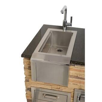 Outdoor Free Standing Bar Center Sink Outdoor Kitchen Bars Outdoor Kitchen Sink Outdoor Living Kitchen