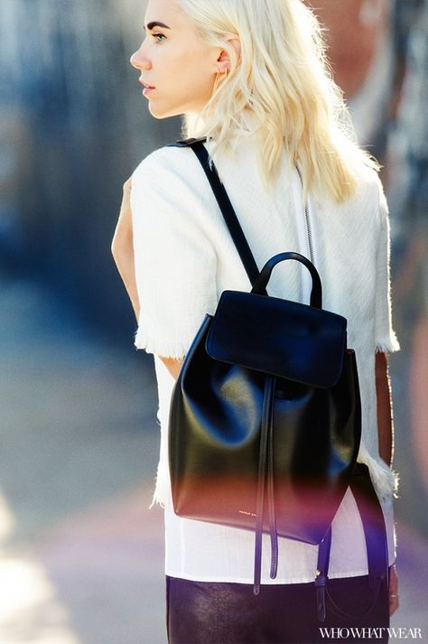 BACKPACK FASHION: 4 Perfect Fall Outfits Styled by Always Judging via @WhoWhatWear