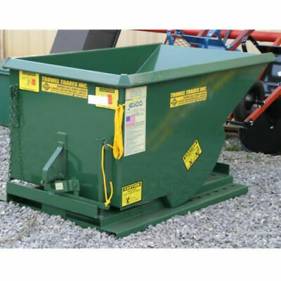 Jesco Husky Self Dumping Trash Hopper 4000 3 Sizes 1 2 1 Or 2 Cubic Yards Ebay Trash Husky Hopper