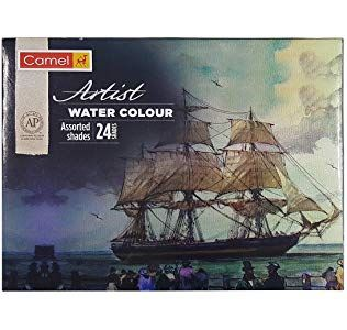 Camlin Kokuyo Artist 5ml Water Color Tube 24 Shades Multicolor