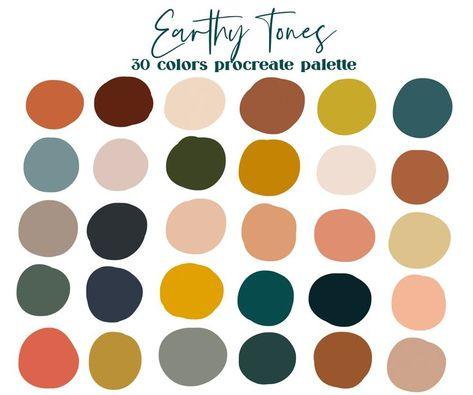 Color Palette For Home, Earthy Color Palette, Neutral Colour Palette, Retro Color Palette, Pastel Color Palettes, Wes Anderson Color Palette, Website Color Palette, Rustic Color Palettes, Complimentary Color Scheme