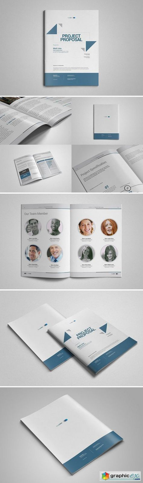 Elite Design ProposalMinimal and Professional Project Proposal - project proposal