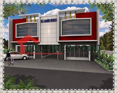 Fasade Gudang Minimalis 2 Lantai Lebar 13 M Desain Ruko Minimalis Lebar 13 M Pada Dasarnya Memiliki Sebuah Tempat Yang Layak D Arsitek Desain Rumah Ruko