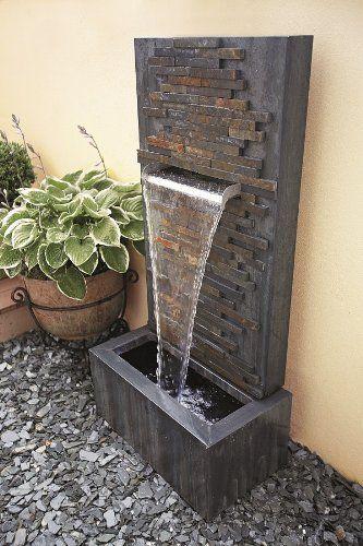 Slate Falls Amazon Co Uk Garden Outdoors Water Fountains