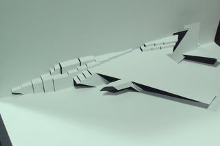 F 15 Fighter Jet Pop Up Card Free Template Kirigami Hd Kirigami Fighter Jets Kirigami Templates