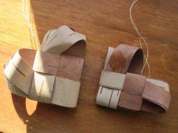 Make Birch Bark Heart Decorations | North Woods Valentine Ornament    Gunflint Trail Association | Crafts | Pinterest | Birch Bark
