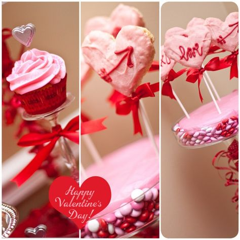 Valentines Dinner..  this website has cuteee party ideas