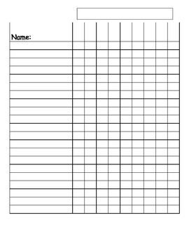 Blank Class List Template | Finally, A Cute Lesson Plan Template. It Looks  Crooked But Itu0027s Not ... | Teaching | Pinterest | Lesson Plan Templates,  Template ...