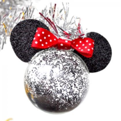 Bring the Magic Home Minnie Mouse Christmas Tree Ornaments