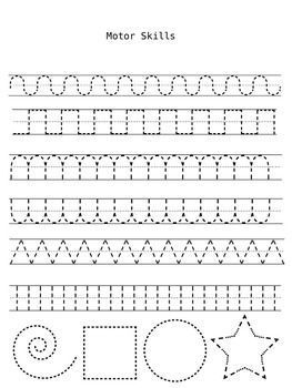 Handwriting Practice Sheets To Improve Fine Motor Skills Can Laminate Or Put In Plastic Sl Handwriting Practice Sheets Preschool Writing Preschool Fine Motor