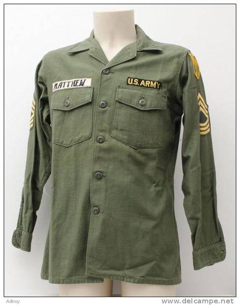 US Army uniform--Vietnam War