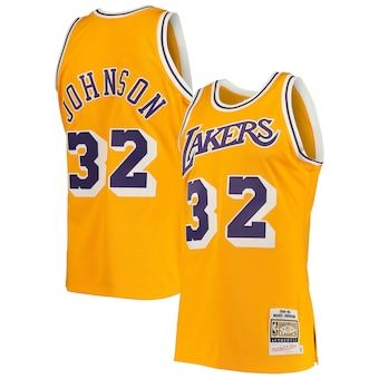 Los Angeles Lakers Nike Custom Swingman Jersey Gold Icon Edition In 2020 Jersey Basketball Jersey Outfit Lakers