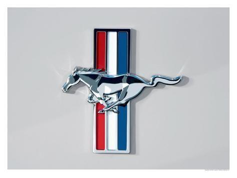 Small Mustang Logo Tin Sign Ford Mustang Logo Mustang Logo Mustang Emblem