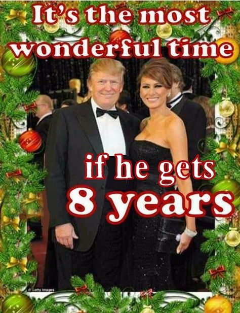 It's the most wonderful time. in 8 years. God bless America and President Trump Merry Christmas America!
