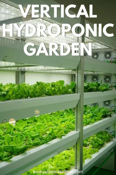 Vertical Hydroponic Garden – Lots Of Food From Small Spaces