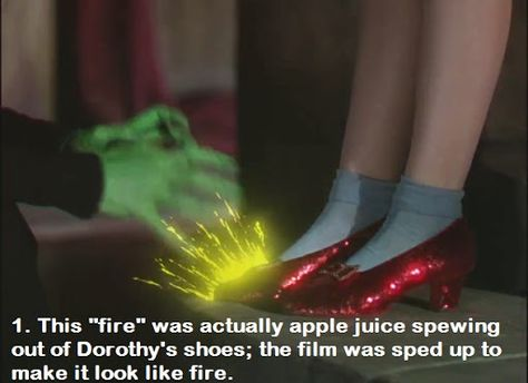 """15 Things You Probably Didnt Know About """"The Wizard Of Oz""""...Epic facts about my favorite movie of all time."""