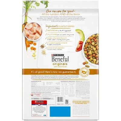 Purina Beneful Originals With Real Chicken Dry Dog Food 14lb