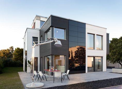 Schworerhaus Moderner Kubus Schworer Haus Haus Haus Bauen