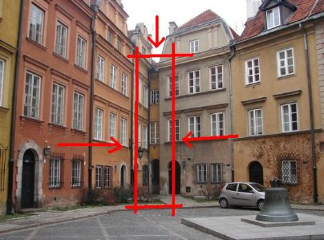 18Th Century House the narrowest house in warsaw from the 18th century | tiny house