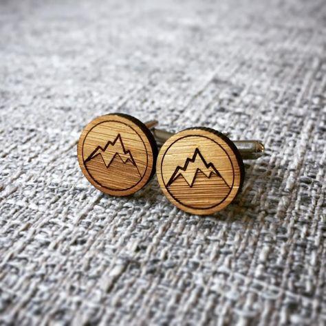 Mountain Cufflinks
