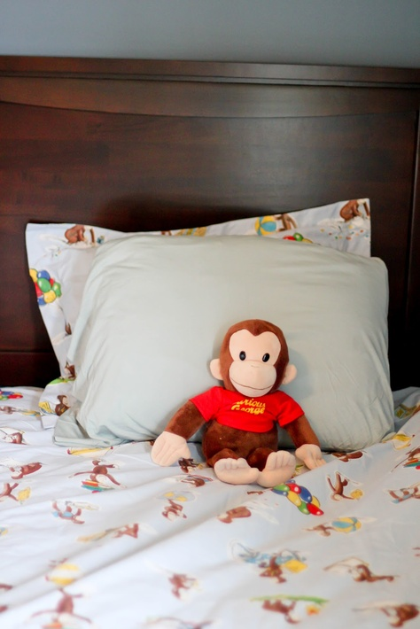 Bedding And Curious George Sheets I Need These For Big Boy Room