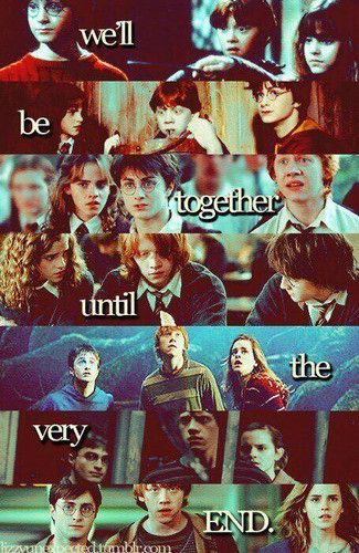 Harry Potter Photo: We'll Be Together Until the Very End | Via We Heart It