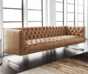 Amazing Sunpan   Sofa Beige Capitonné   Tan Tufted Sofa | Meubles Capitonnés    Tufted Furniture | Pinterest | Tufted Sofa, Leather Sofa Set And Sofa Set