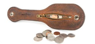 Making Change A Less Lethal Coin Purse From Mean Gene Leather