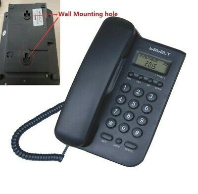 Details About Wall Mount Lcd Telephone Corded Office Landline Caller Phone Home Desk Display In 2020 Home Desk Lcd Telephone