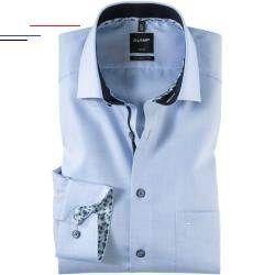 Printchiffon Griffiges Schaftmuster Und Modisches Design In Asthetisch Herausgearbeiteten Detaillosungen Machen Das Olymp Luxor In 2020 Modestil Modisch Oberhemden